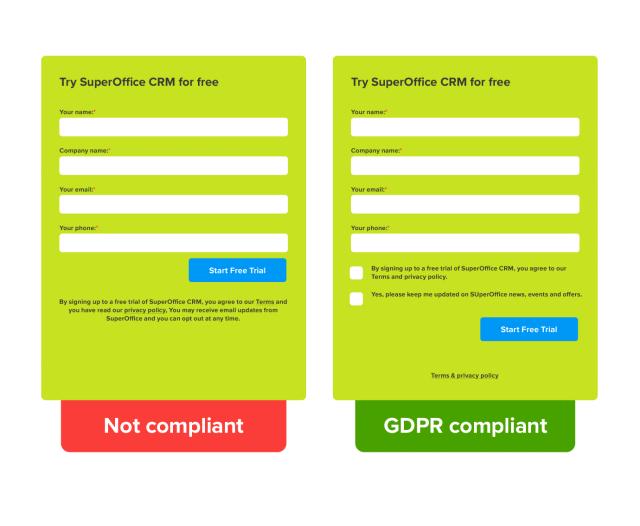 GDPR Compliant Web Form compressed