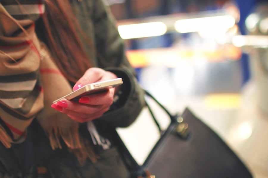 fashion person woman hand