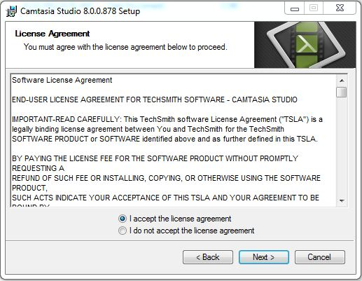 How to Download and Install Camtasia Studio 8 step 2