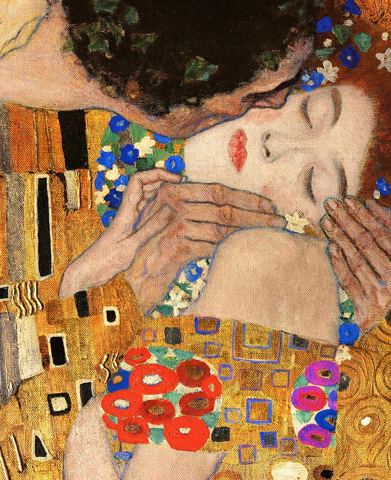 Gustav Klimt The Kiss Painting - Knowledge Lover - Gaurav Dhiman
