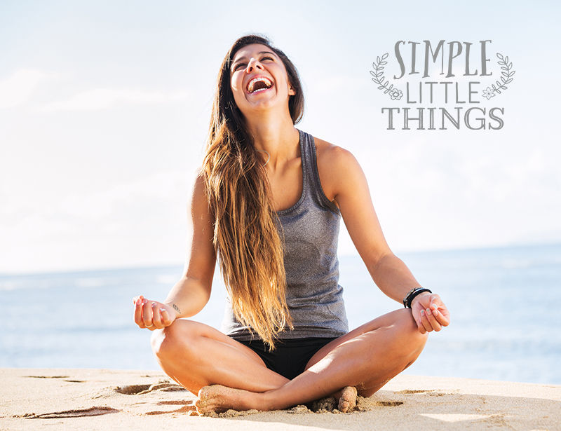 Healthy Girl Laughing - Simple Little Things