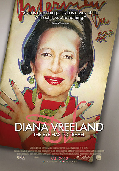 The Eye Has To Travel Diana Vreeland Cover