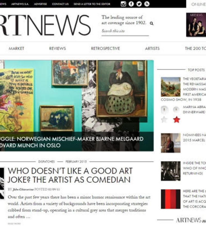 artnews magazines