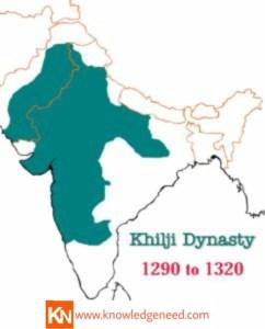 Khilji dynasty map