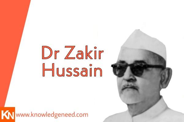 Dr Zakir Hussain