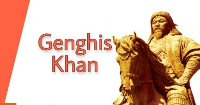 Genghis khan and India