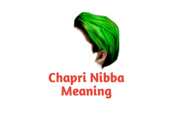 Chapri Meaning