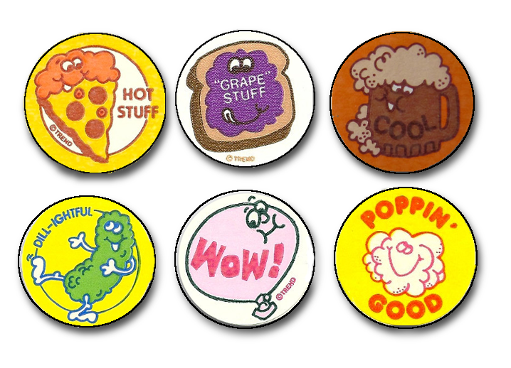 Popcorn root beer strawberry and pizza those are just some of the familiar smells we remember from scratch and sniff stickers as kids