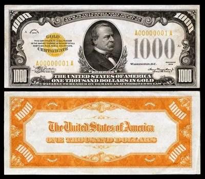 $1000-GC-1934