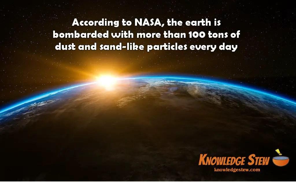 Earth bombardment