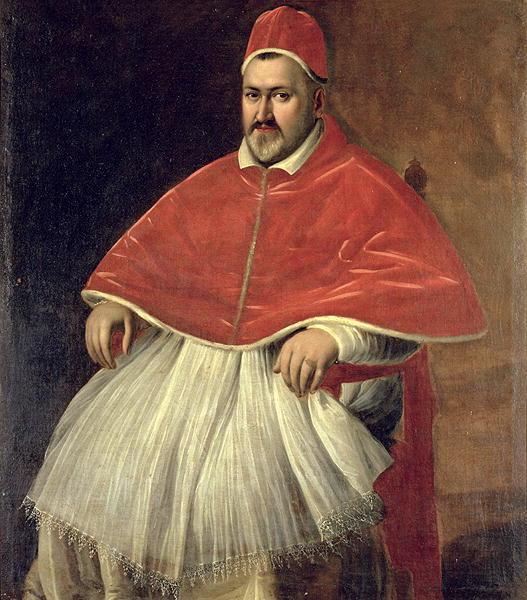 Pope Paul V - wikipedia, portrait by Caravaggio   https://en.wikipedia.org/wiki/Pope_Paul_V#/media/File:Paul_V_Caravaggio.jpg