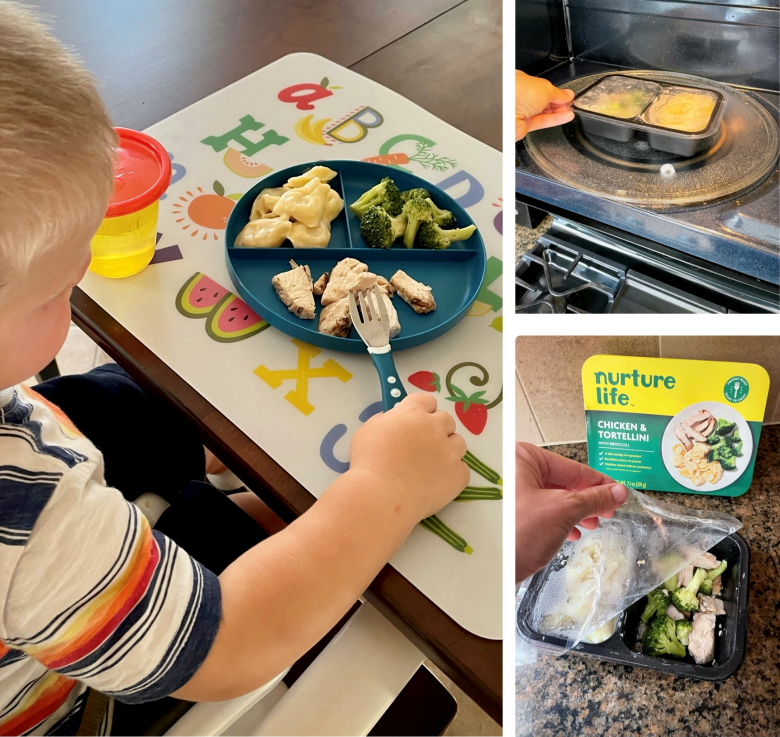 An overview of nurture life meals.