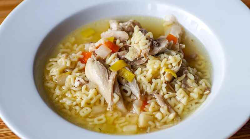 Canning chicken and chicken noodle soup
