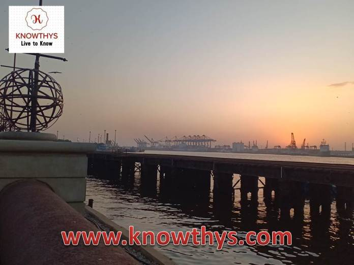 Sunset at Port Grand