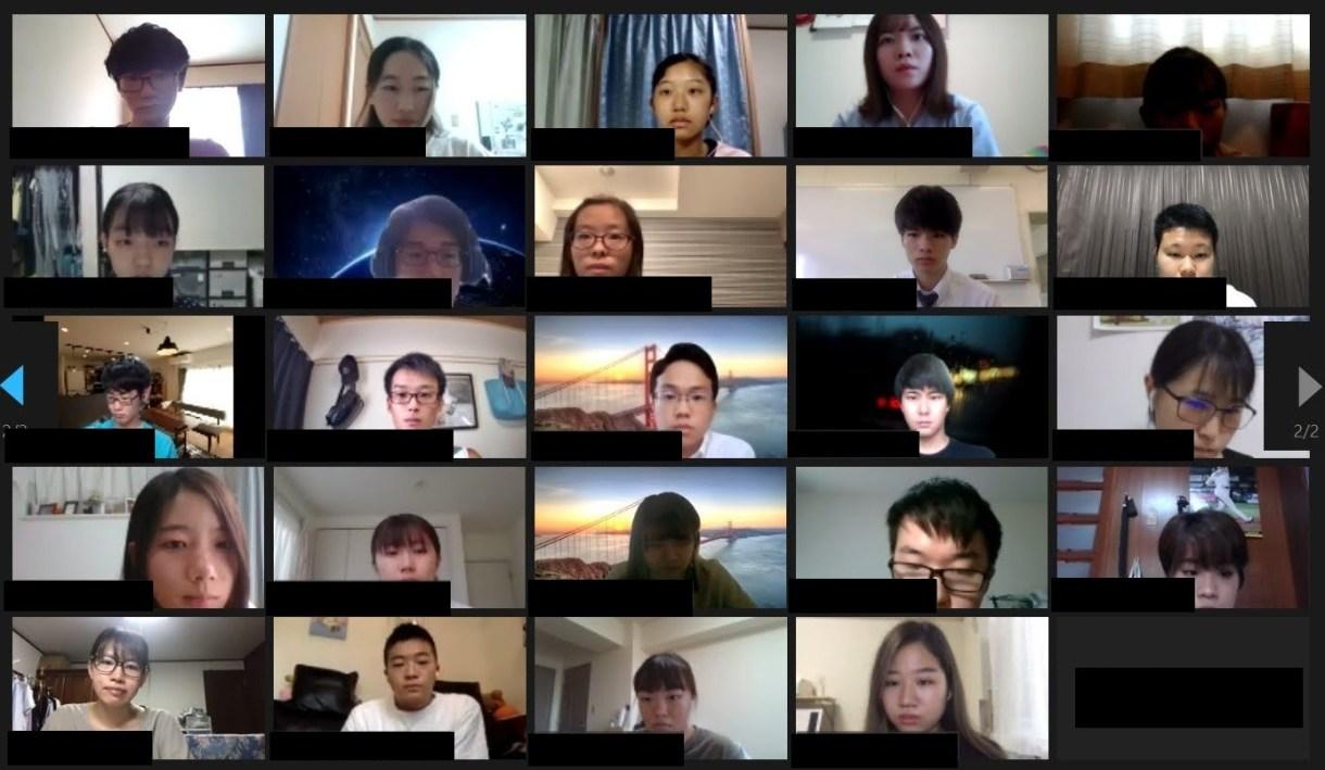 2020-21 Global Talk! オリエンテーション開催