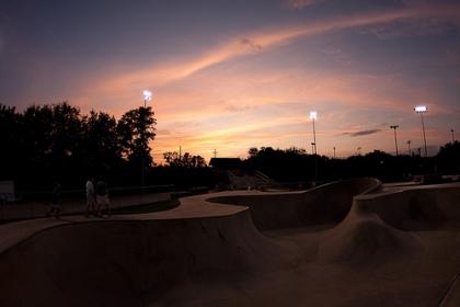 sunset-at-skate-park
