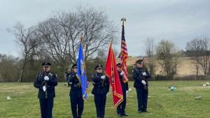 Honor Guard flag team 2021