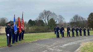 Full Honor Guard Ceremony