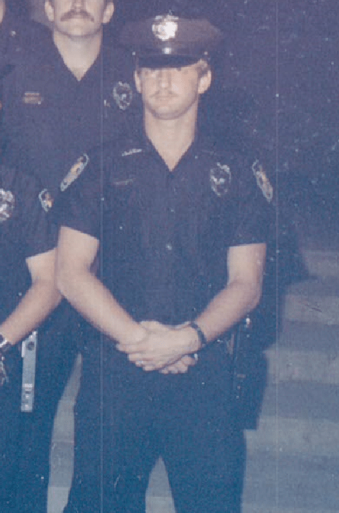 Young Chief Deputy in uniform
