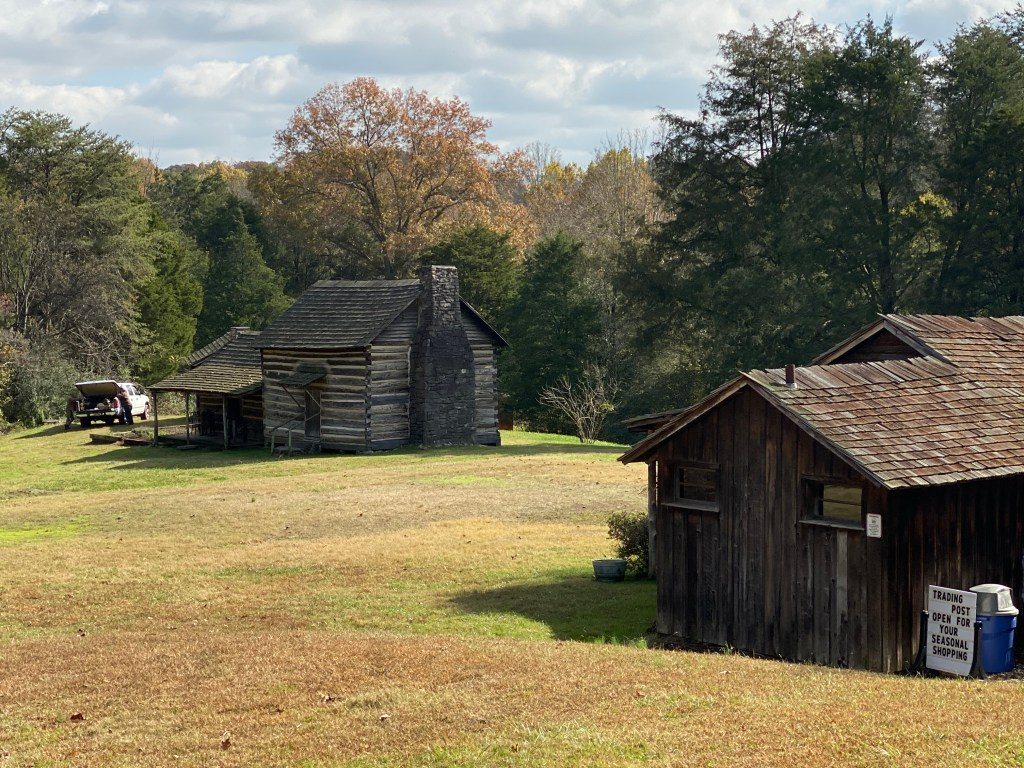 Old Appalachian style buildings