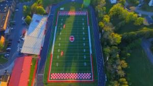 Halls Football field