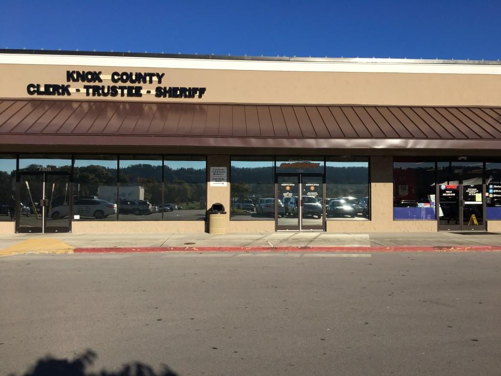 Front entrance of KCSO North Precinct