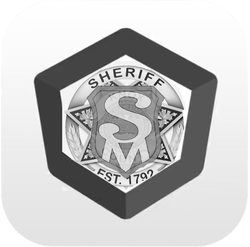 Black and white SafetyMan badge
