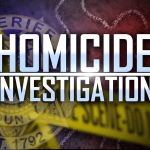 """""""Homicide Investigation"""" with KCSO badge"""