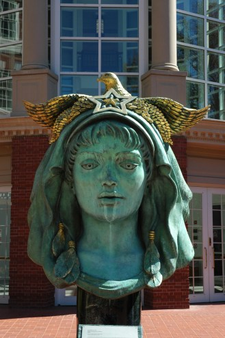 Beloved Woman of Justice by Audrey Flack