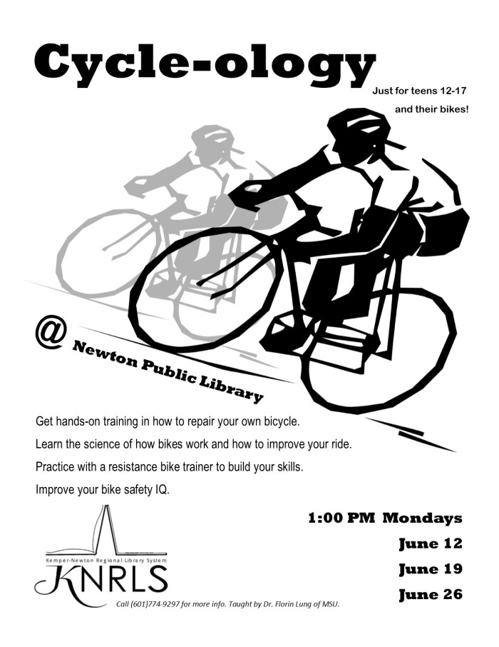 A flyer for Cycle-ology
