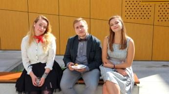 Od lewej: Martyna Andrzejak, Marcin Kasprowicz, Zuzanna Kowalczyk
