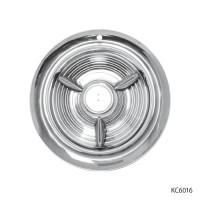 STAINLESS STEEL FIESTA HUB CAPS   KC6016
