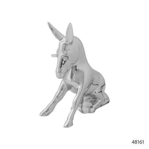 Grand General 48180 Chrome Bull Horn Hood Ornament