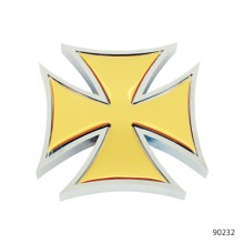 IRON CROSS ACCENTS WITH STICKER | 90242