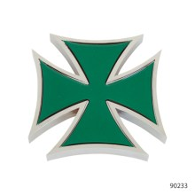 IRON CROSS ACCENTS WITH STICKER | 90233