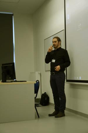 Maciej Kaczor - organizator główny we własnej osobie