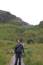 Tomus nach der Wanderung zum Lost Valley