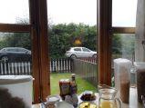 Aussicht beim Frühstück auf Skye