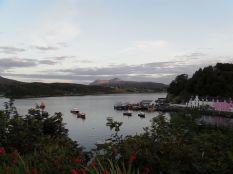 Der Hafen in Portree, Skye
