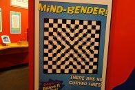 Etliche optische Täuschungen gab es in der Ausstellung.