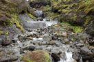 Auch neben dem Wasserfall sind schöne Flächen zu bewundern