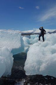 Wir können jedoch nicht gehen, bevor Tomus einen der Eisberge bezwungen hat