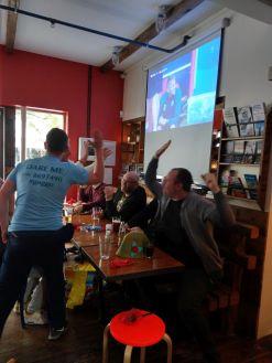 Der isländische Junggesellenabschied feiert das isländische Tor