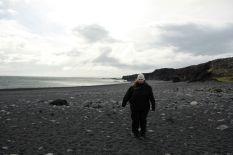 Der Strand ist schön breit. Schade, dass man hier nie baden kann