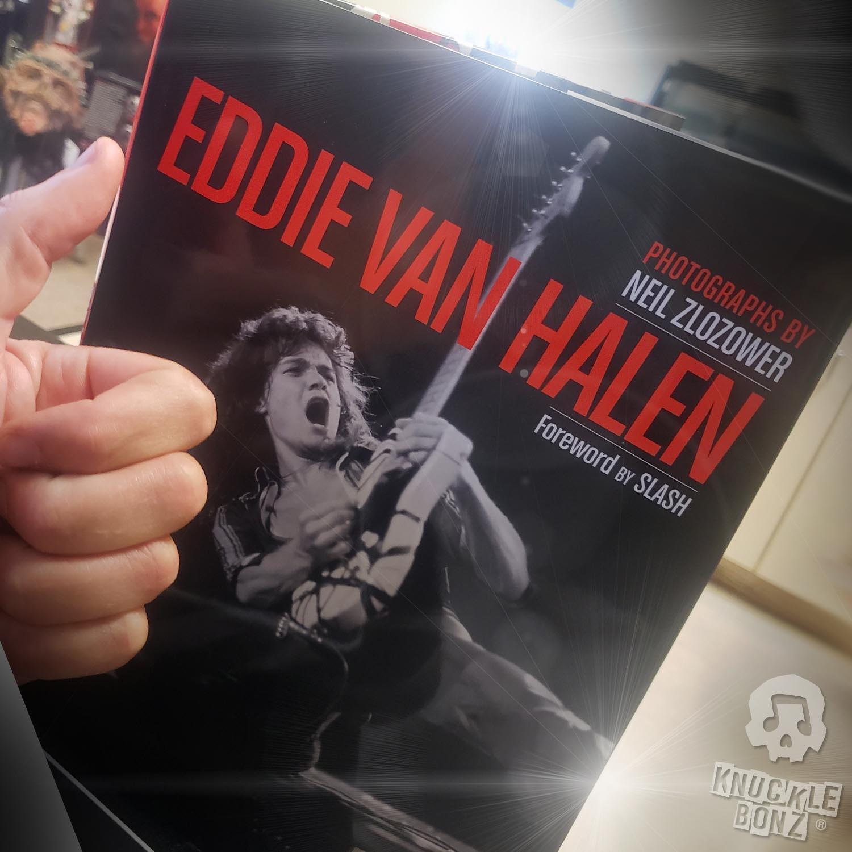 Great Photos Make Rock Iconz Neil Zlozower S Work W Eddie Van Halen Knucklebonz Inc