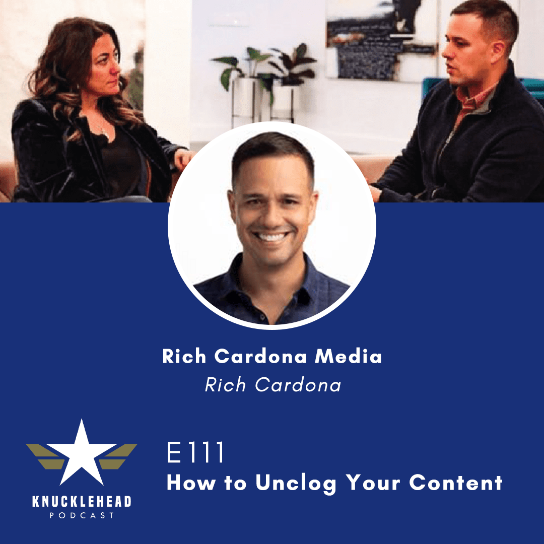 Utilizing The Human Voice, Video, Credibility and Authenticity:  Knucklehead Media Group Interviews Rich Cardona