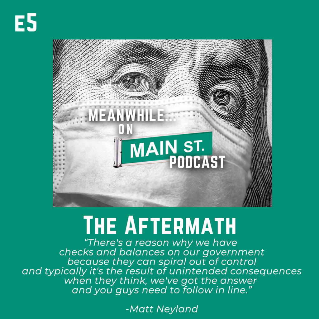 #Throwback Thursday – Meanwhile On Mainstreet Ep. 5 – The Aftermath.