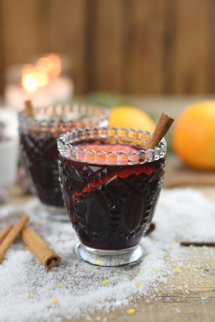 Alkoholfreier Punsch - Weighnachtstrunk - Weihnachtsgetränk (1)
