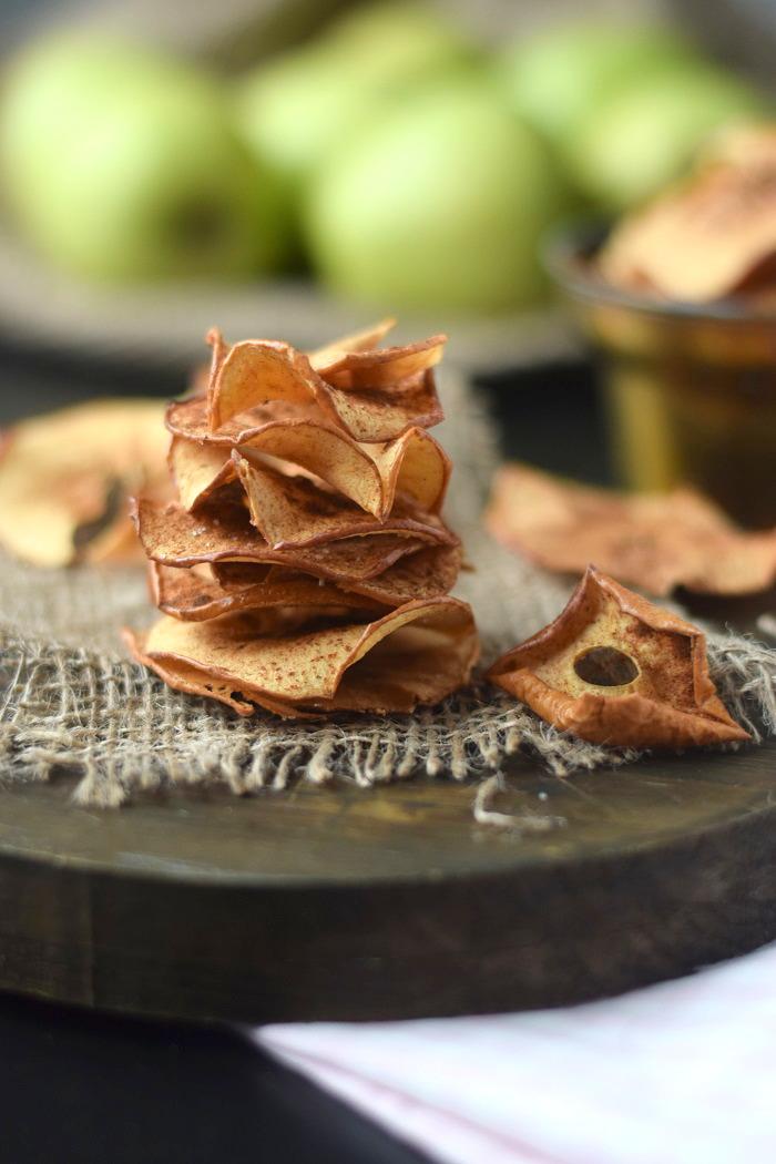 Bratapfel Chips - Baked Apple Chips (3)