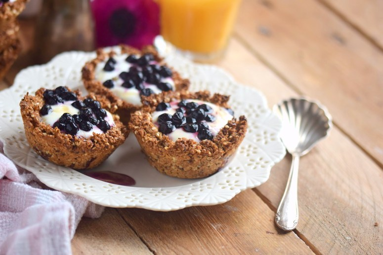 Granola Cups mit Joghurt - Granola Cups with yogurt and fruits (12)